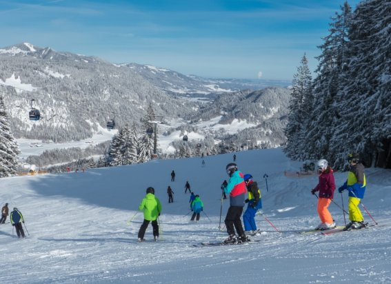 Skifahren am Familienberg Söllereck
