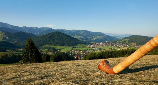 Panorama von Oberstaufen