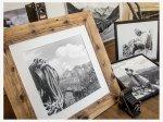 Historische Bergbilder von Leo Schnellbach