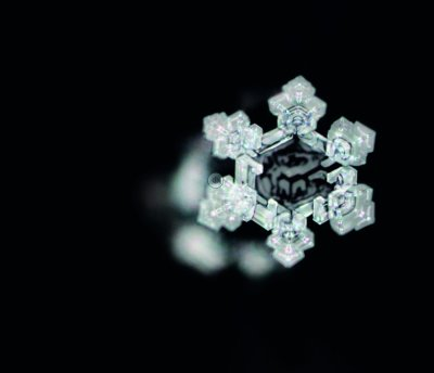 Kristallstruktur aus der Isar Urquelle
