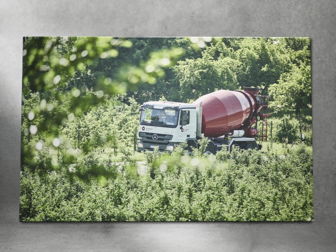 Trucker Leinwände