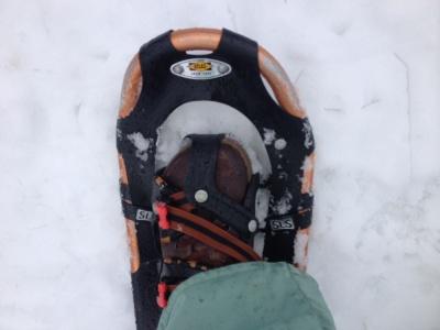 Schneeschuhe an und los!
