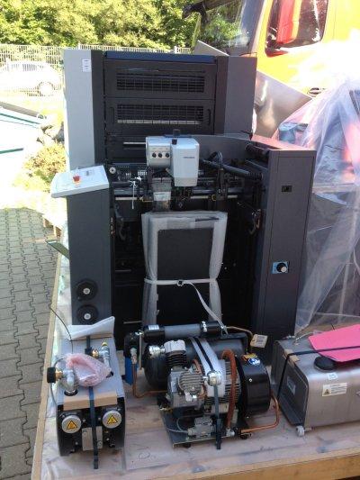 Lieferung einer Heidelberger Druckmaschine (c) Schöler Kreativ
