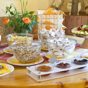 Frühstücksbuffet im Schwabenhof