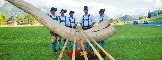 Alphörner im Allgäu