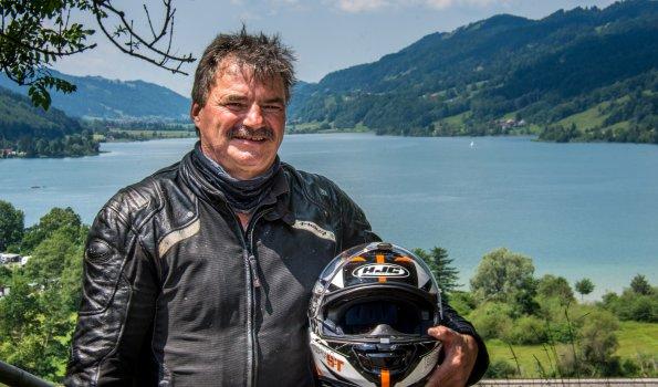 Motorradfahren mit Erich Kohler