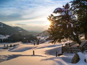 ©Tourismus Hörnerdörfer GmbH Allgäulichtbild Balderschwang im Winter