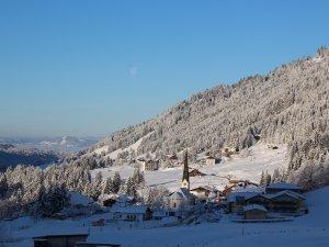 ©Katharina Lässer - Blick auf Balderschwan im Winter