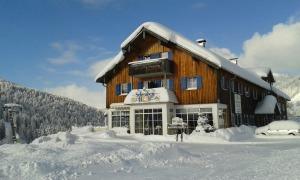 Der Schwabenhof in Balderschwang im Winterkleid