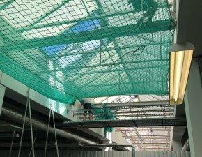 Zülz Sicherheitsnetze Montage Auffangnetze Personenauffangnetze Dachrandsicherung Randsicherung Seitenschutz Sanierung