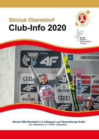 Titelseite SCO Clubinfo 2020