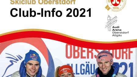 Club Info 2021 Titelseite