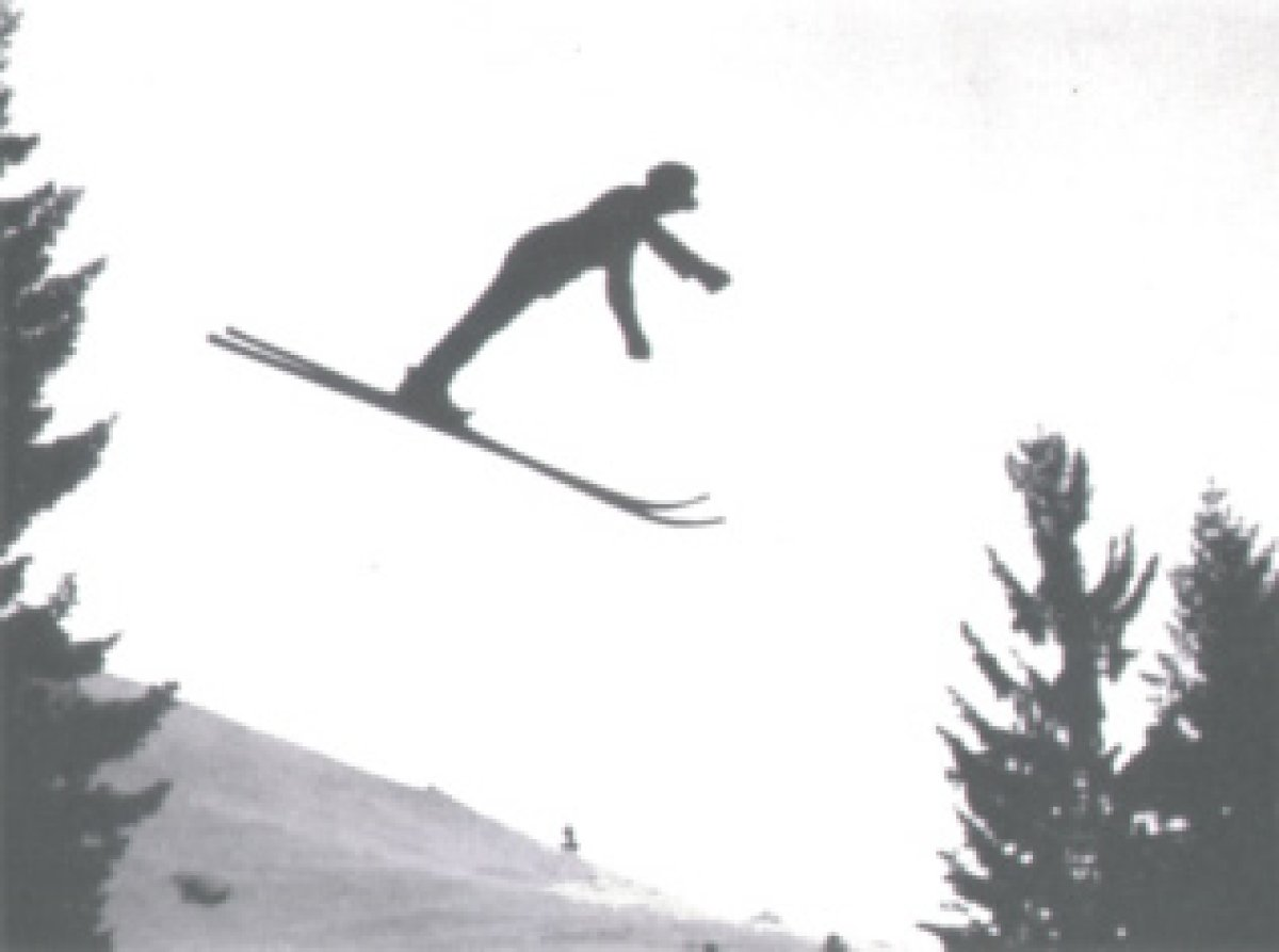 Oberstdorfs erster Skispringer Franz Thannheimer