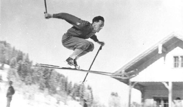 Hermann Schedler am Karatsbichl