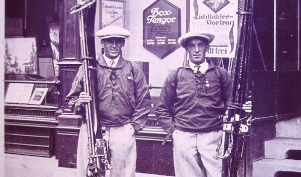 Alois und Hermann Schedler