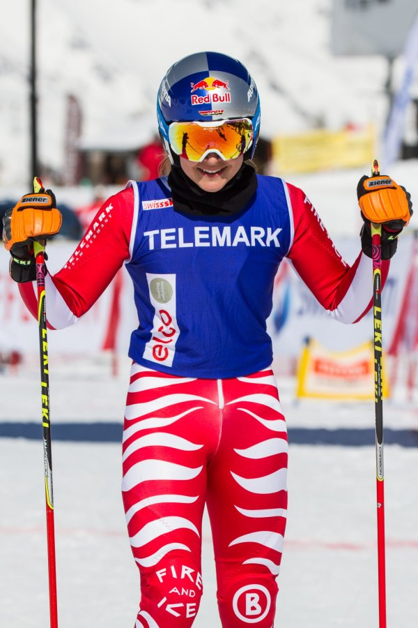 Telemarkerin Johanna Holzmann