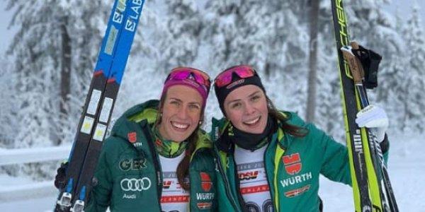 Sofie Krehl und Coletta Rydzek