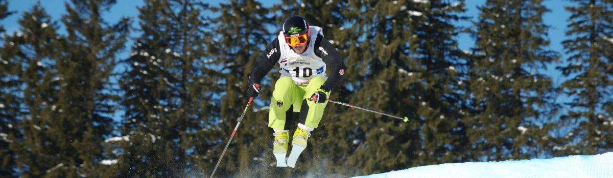 Action und Spannung sind beim Skicross garantiert