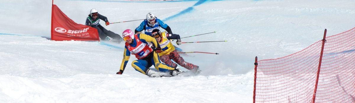 Skicross – ein Spektakel für die Zuschauer