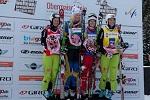 Siegerehrung Ski Cross Frauen