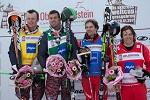 Siegerehrung Ski Cross Männer