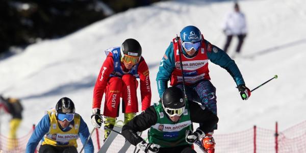 Verfolgungsrennen Ski Cross