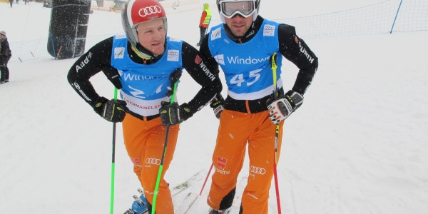 Simon Stickl und Florian Eigler