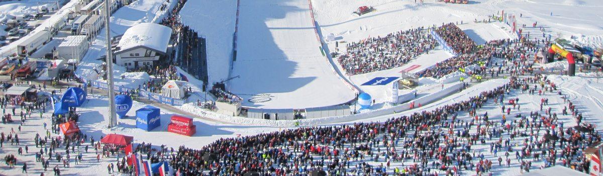 Heini-Klopfer Skiflugschanze im Überblick