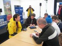Pressekonferenz mit Werner Schuster
