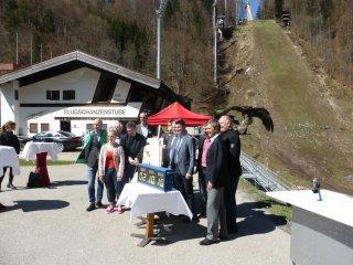 Start Umbau Skiflugschanze 2