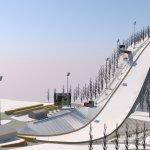 Skiflugschanze 3-D
