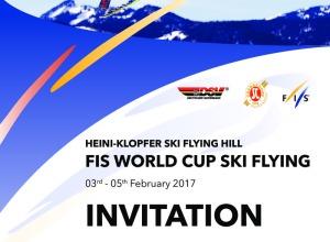 Ausschreibung FIS Weltcup Skifliegen 2017