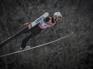 Skiflug WM 1. Durchgang - Daniel Andre Tande