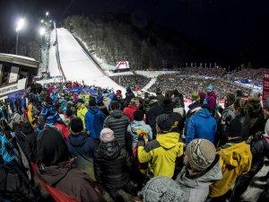 Atmosphäre Heini-Klopfer-Skiflugschanze