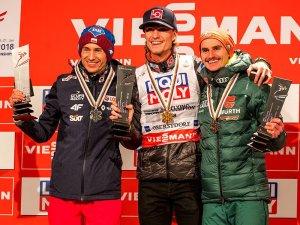 Siegerehrung Skiflug WM