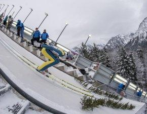 Skiflug WM Team - Simon Ammann