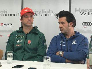 PK Werner Schuster und Horst Hüttel