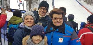 Hanne Lingg mit Freunden