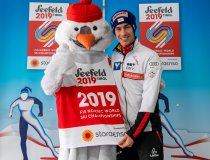 Stefan Kraft mit Snowie