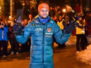 Markus Eisenbichler (GER), Siegerehrung Nordic Park