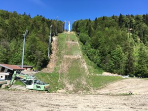 22.05.2016 - Umbau Skiflugschanze (5)