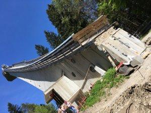 22.05.2016 - Umbau Skiflugschanze (11)