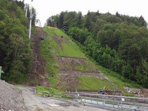 31.05.2016 - Umbau Skiflugschanze (8)