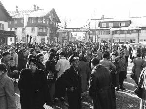 Besucheransturm 1952