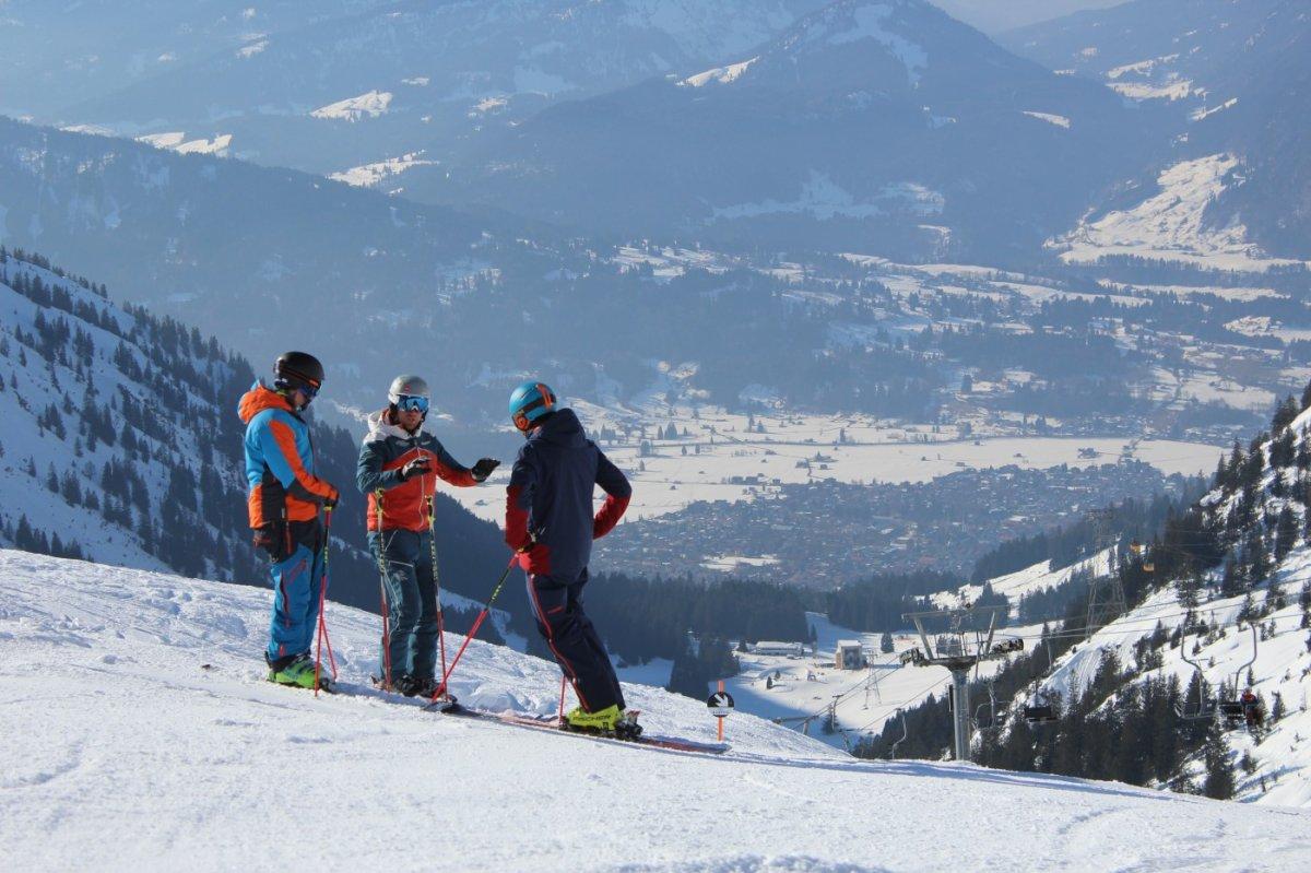 Klettersteigset Oberstdorf Leihen : Skischulen skiverleihe in oberstdorf kleinwalsertal
