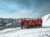 Das Team der Skitechnikschule Oberstdorf