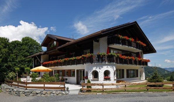 Sonnenhof Haus Sommer Terrasse