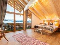Schlafzimmer Alp-Chalet