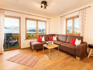 Wohnbereich Alpenpanorama