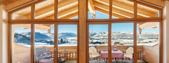 Panoramablick Alp-Chalet